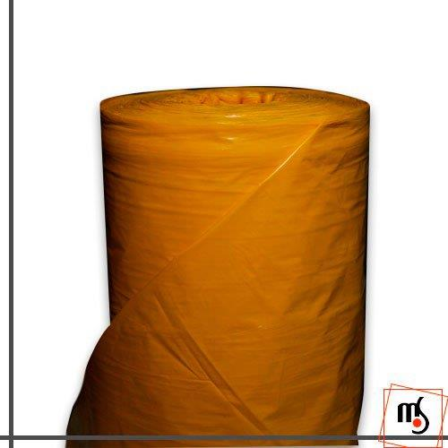 Lona plástica amarela