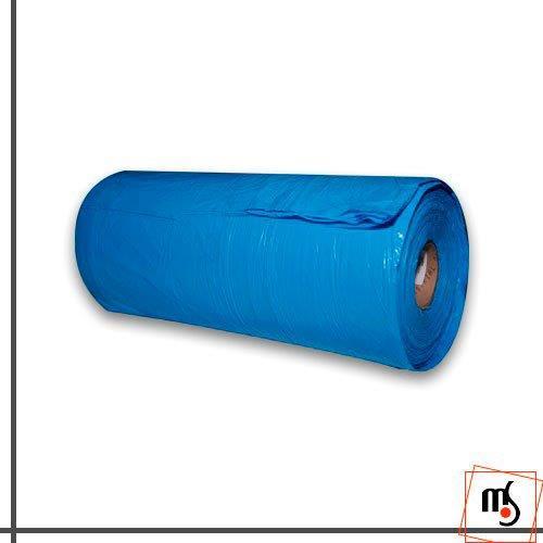 Rolo de lona plástica azul