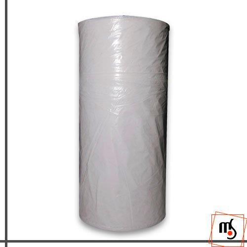 Rolo de lona plástica transparente
