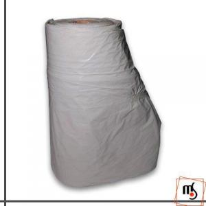 Rolo de lona plástica branca